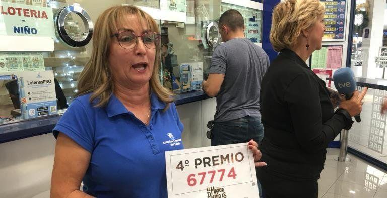 Cae en Playa Honda parte del cuarto premio de la Lotería de ...