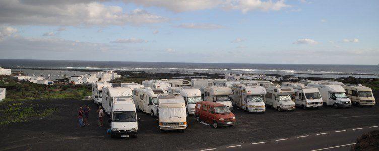 Imagen de la primera vuelta en autocaravana organizada por la asociación el pasado año.