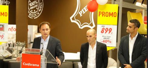 Conforama inaugura oficialmente su tienda en lanzarote for Esquelas el mueble melide