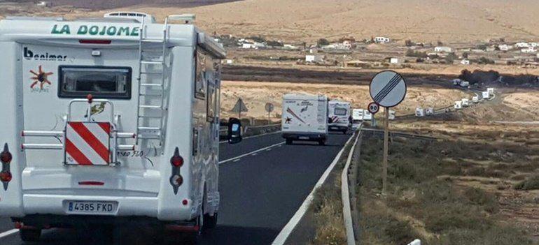 FOTO: Asociación de Autocaravanas por Lanzarote