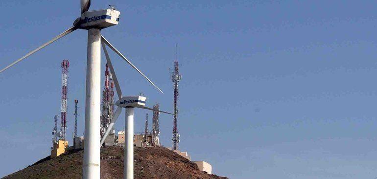 Resultado de imagen de parque eólico de San Bartolomé en Lanzarote