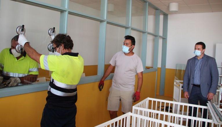 Visita de Óscar Noda al CEIP Playa Blanca