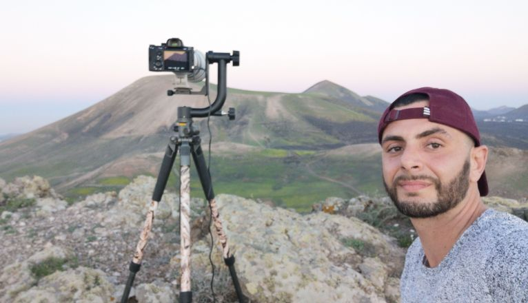 El fotógrafo lanzaroteño Juan Méndez